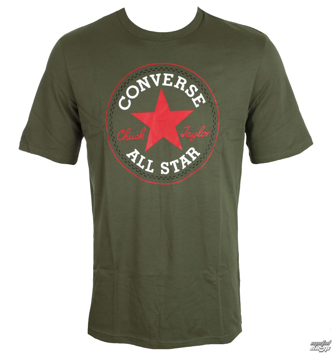 470f729daf3 tričko pánské CONVERSE - CORE CHUCK PATCH - 10002848-A17 - metal-shop.eu