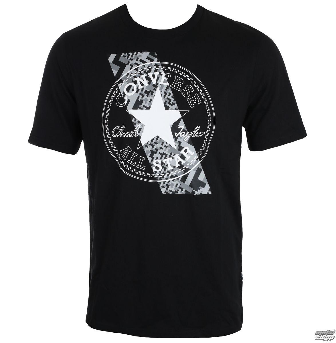 tričko pánské CONVERSE - Chuckptch Contrast Slash - 10004727-A05 ... b83ba0b1c78
