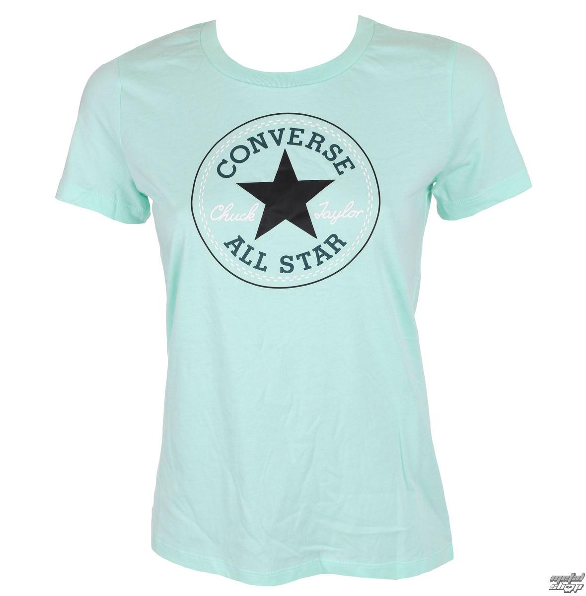 2a0d67e1ae50 t-shirt street women s - CORE SOLID CHUCK PATCH - CONVERSE - 10001124-A16 -  metal-shop.eu