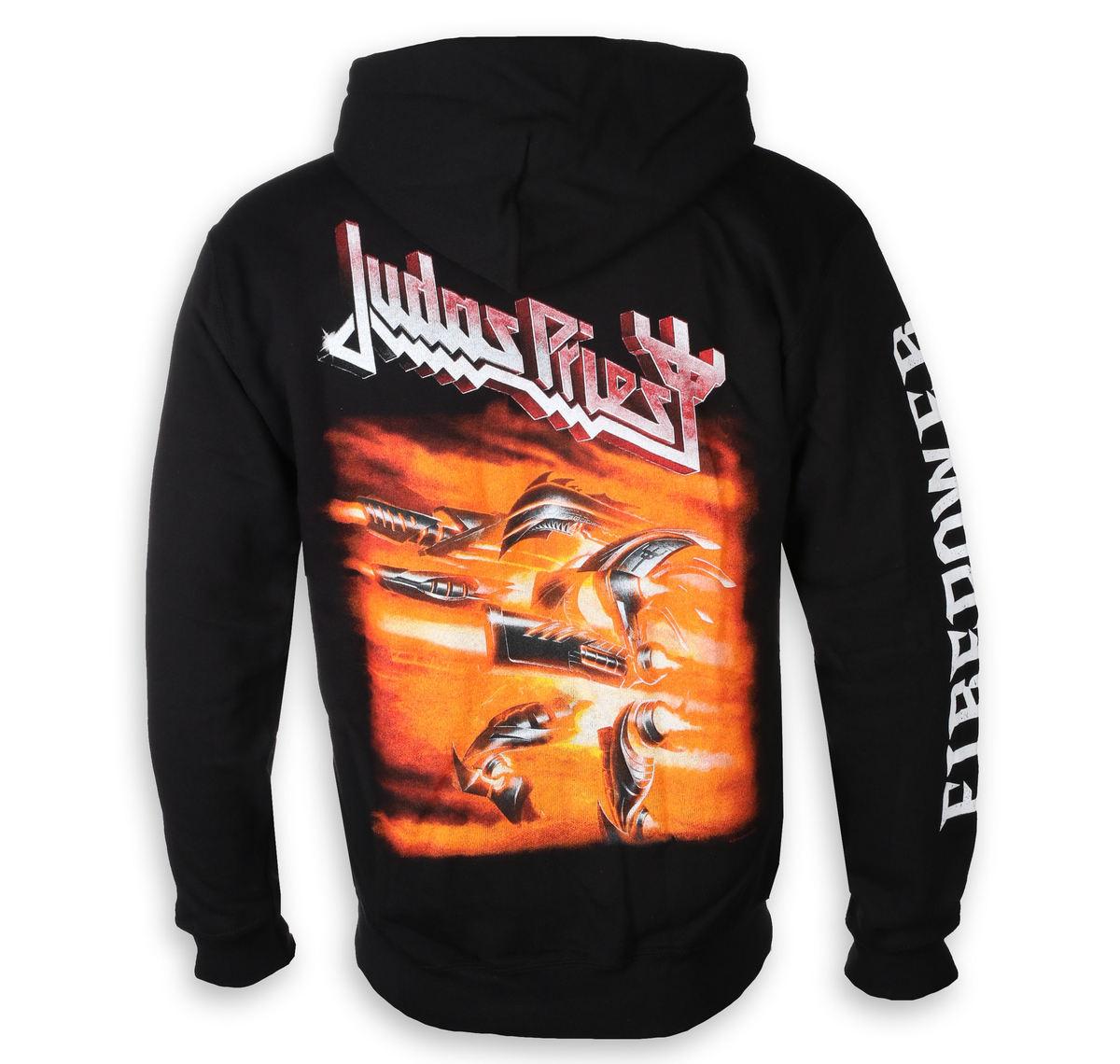 NEW /& OFFICIAL! Judas Priest /'Firepower/' Zip Up Hoodie