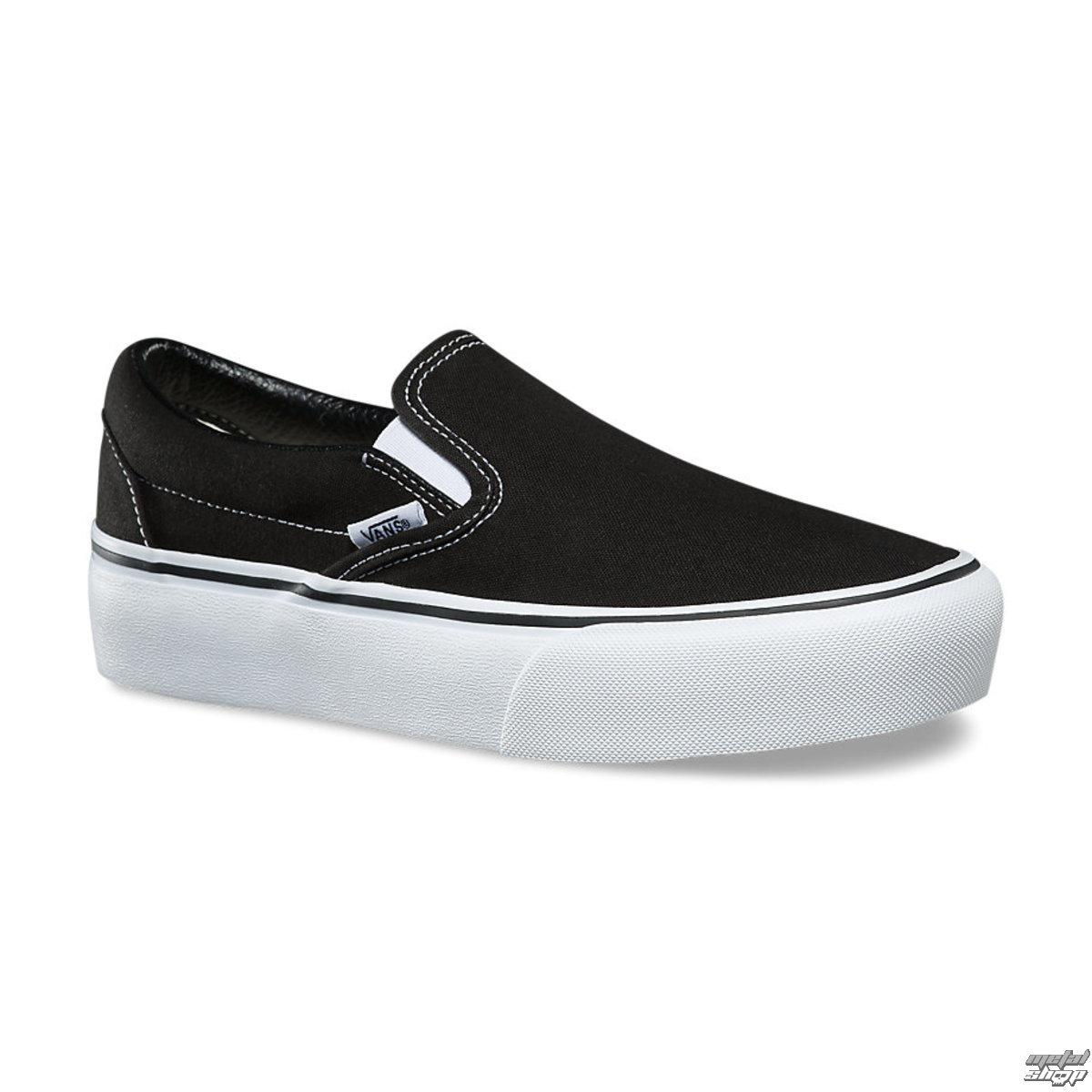 0908a8a54d398b Women s shoes VANS - UA CLASSIC SLIP-ON PLATFORM Black - V0018EBLK -  metal-shop.eu