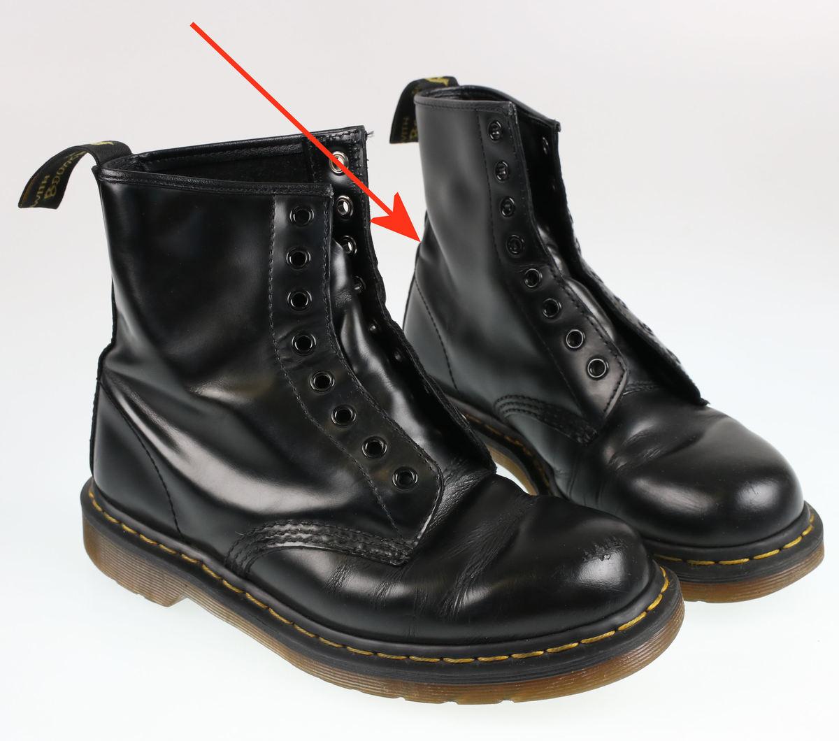 boty Dr. Martens - 8 dírkové - Smooth Black - 1460 - POŠKOZENÉ ... edd697c25b
