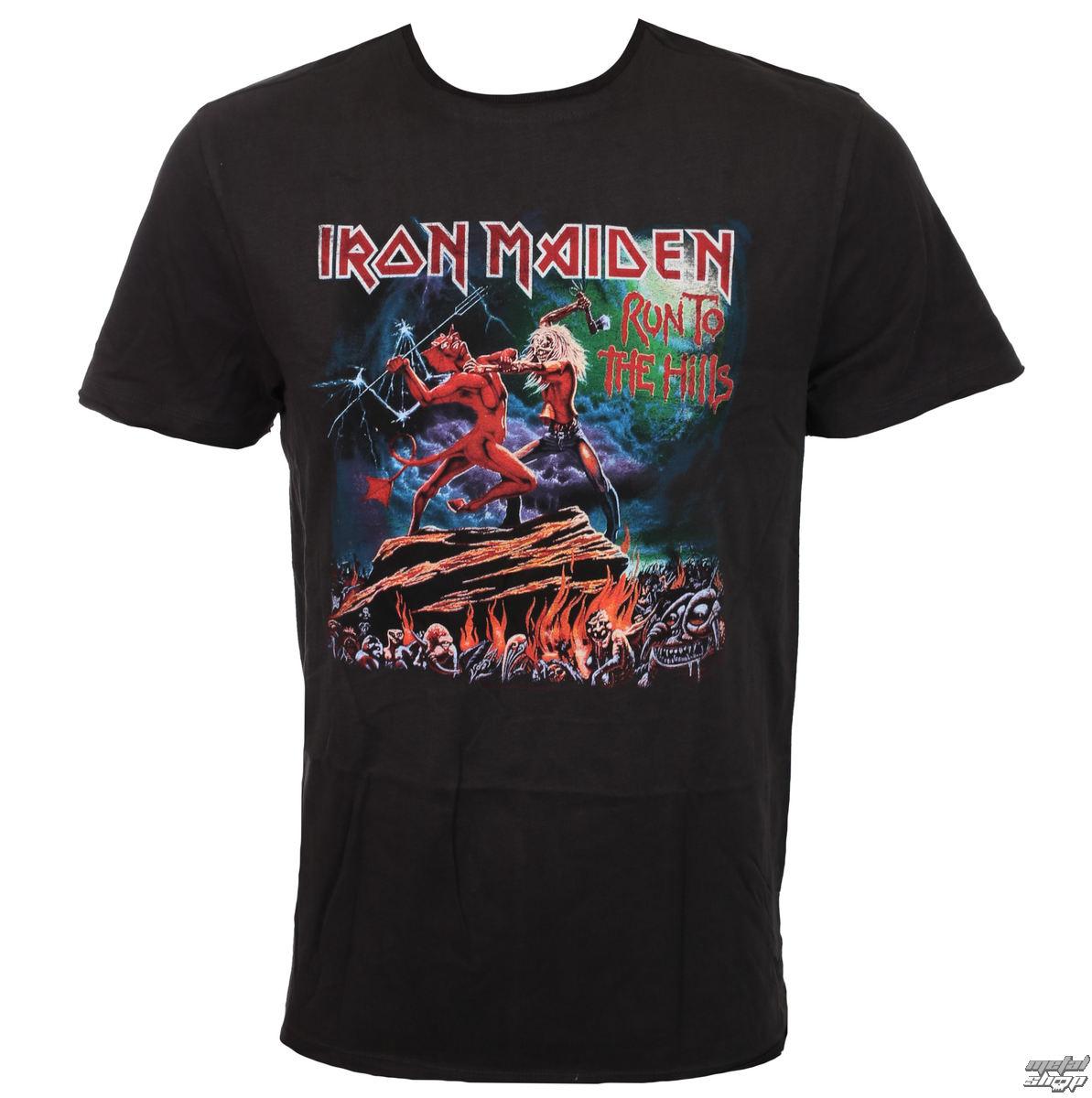 e504e874df3 t-shirt metal men s Iron Maiden - RUN TO THE HILLS - AMPLIFIED - ZAV210RTH  - metal-shop.eu