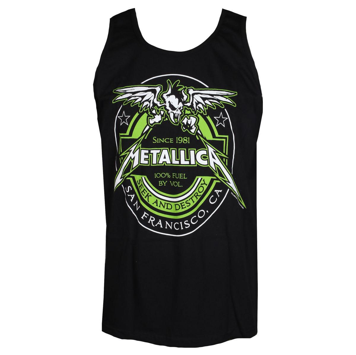 51569d99c46 Men's tank top Metallica - 100% Fuel - Black - RTMTLVEBFUEL-2 ...