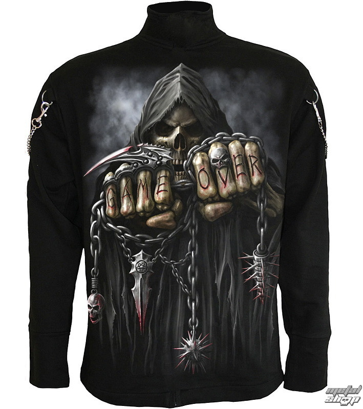cae56b1b1ea1 sweatshirt (no hood) men s - Black - SPIRAL - T026M653 - metal-shop.eu