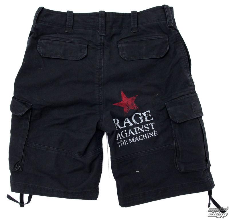 shorts men Rage Against The Machine - Black Red Star - ATMOSPHERE