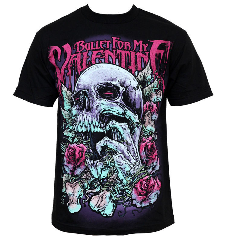 Clearance Best Prices Bullet For My Valentine - Logo Mens T-Shirt Bravado Cheapest k4rY8