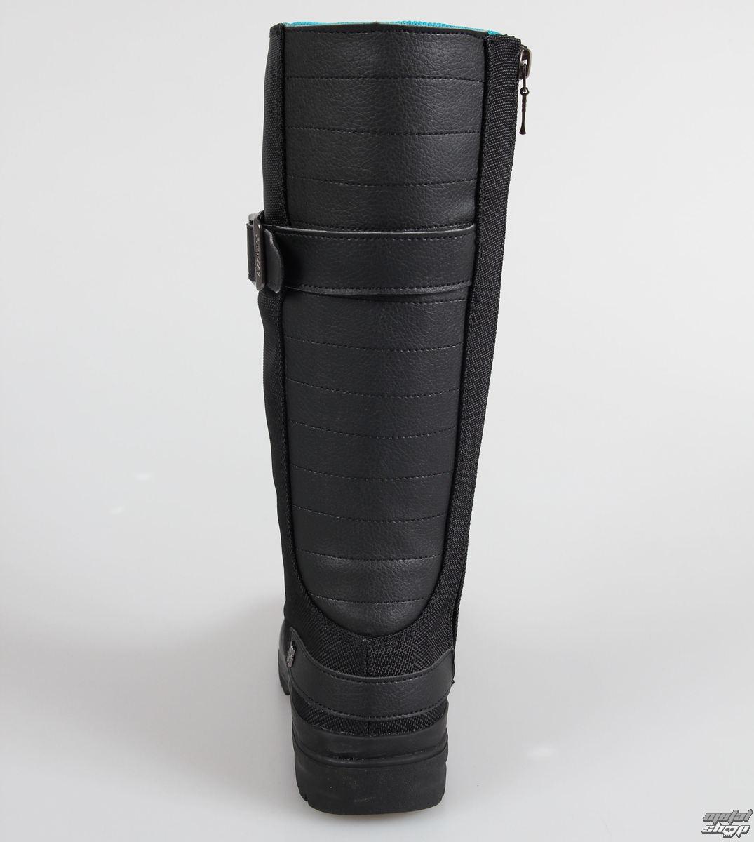 winter boots women's - Flex Boot - DC - BLACK-BLACK-BB2 - metal ...