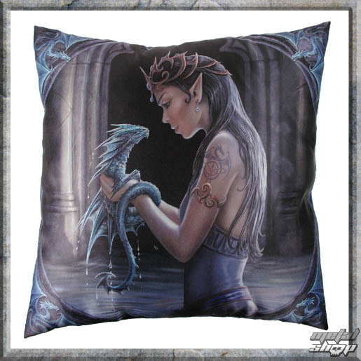 pillow Anne Stokes - Water Dragon