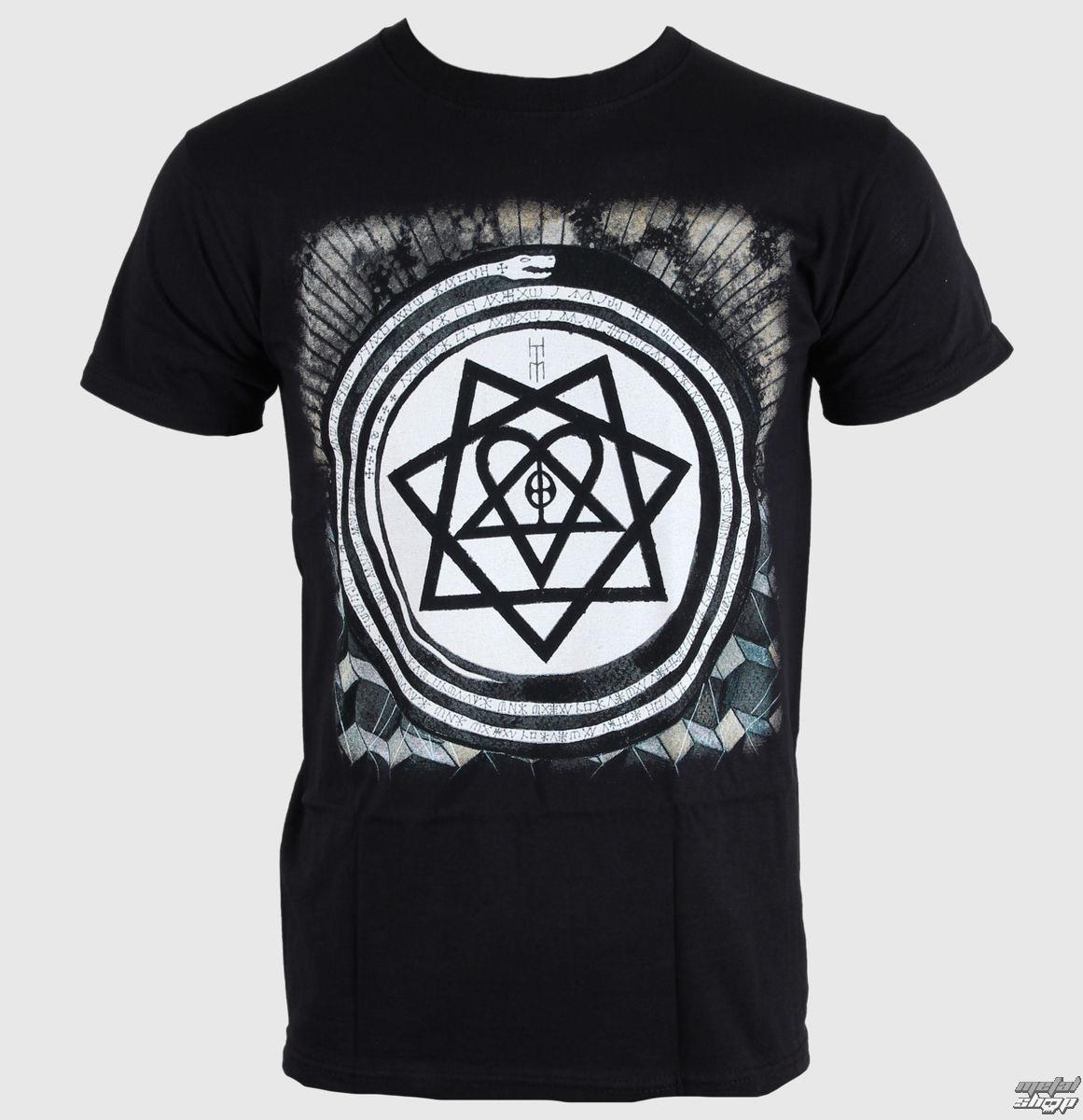 t-shirt metal men\'s Him - Album Symbols - ROCK OFF - HIMTEE02MB ...
