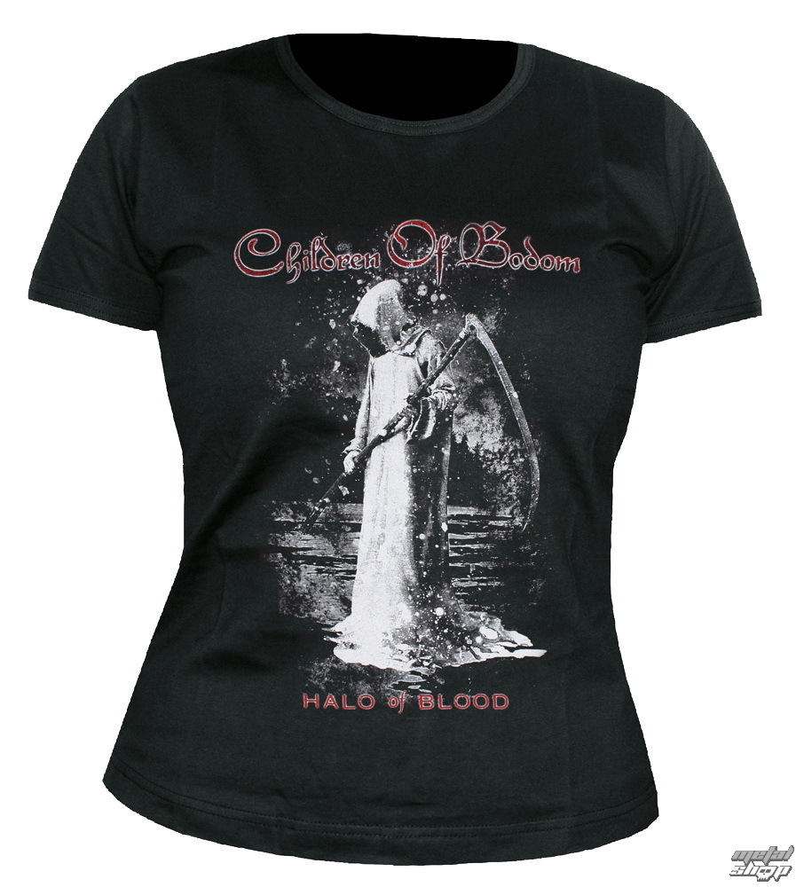 t-shirt metal women's unisex Children of Bodom - Halo Of Blood - NUCLEAR BLAST