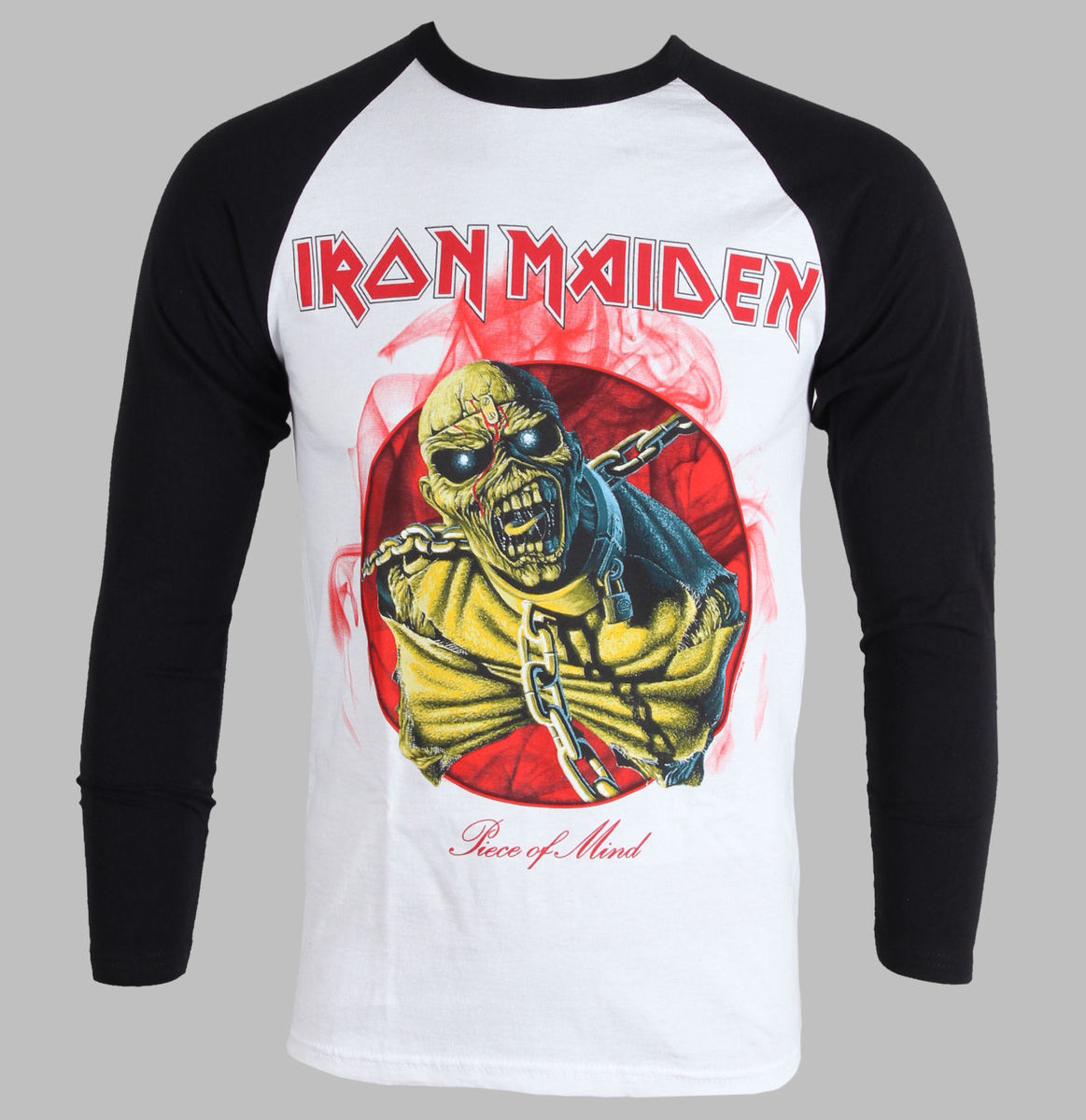 b96aceb7ce58 t-shirt metal men's children's Iron Maiden - Piece Of Mind - ROCK OFF -  IMRL02MW - metal-shop.eu