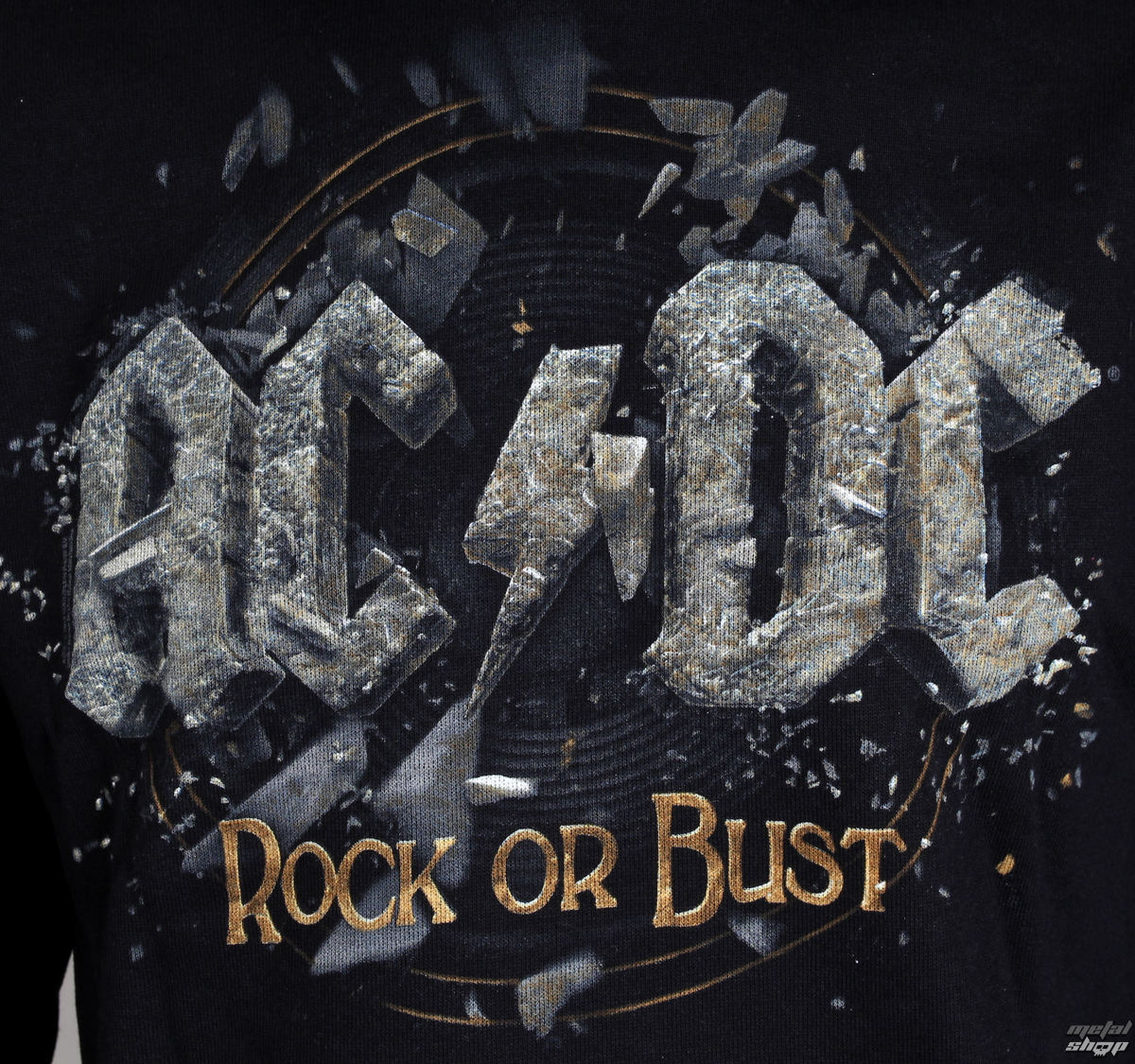 hoodie men's AC DC Rock Or Bust LIVE NATION