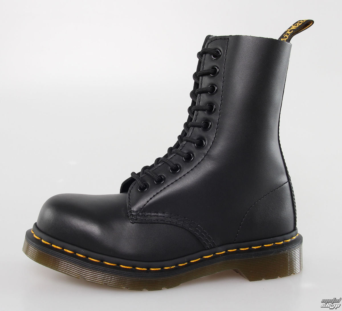 0a7a87abf5dc8 boots DR. MARTENS - 10 eyelet - 1919 - BLACK FINE Haircell - metal ...