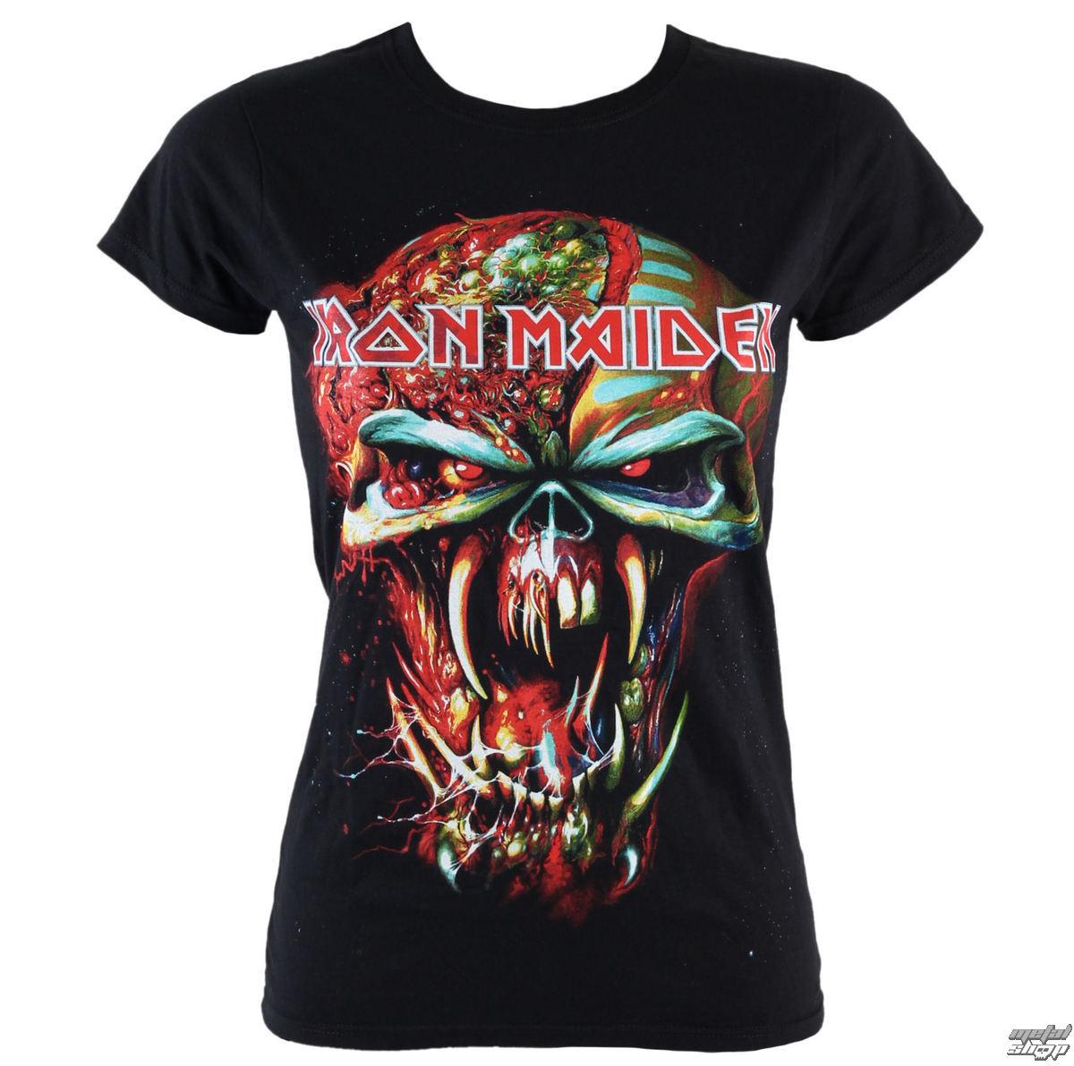 cf38740c t-shirt metal women's Iron Maiden - Final Frontier Eddie - ROCK OFF ...