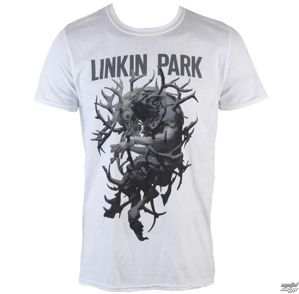 55a3fb1a t-shirt metal men's Linkin Park - Antlers - PLASTIC HEAD - PH8975 -  metal-shop.eu