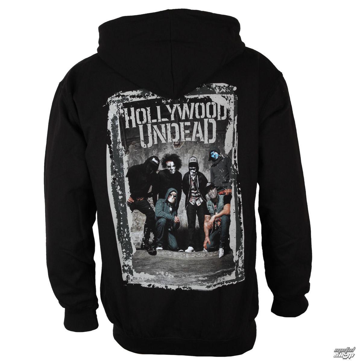 86fd1974c87 hoodie men Hollywood Undead - Cement Photo - PLASTIC HEAD