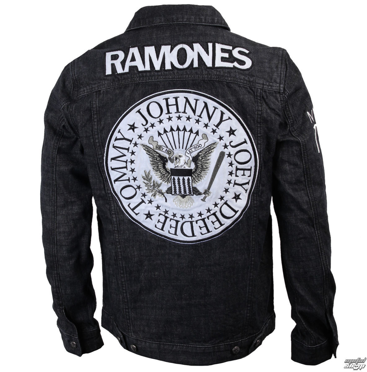 Jacket Men Ramones Seal Denim Bravado 95222041