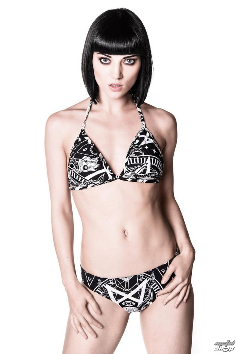 swimsuits women KILLSTAR - Black Mass Bikini