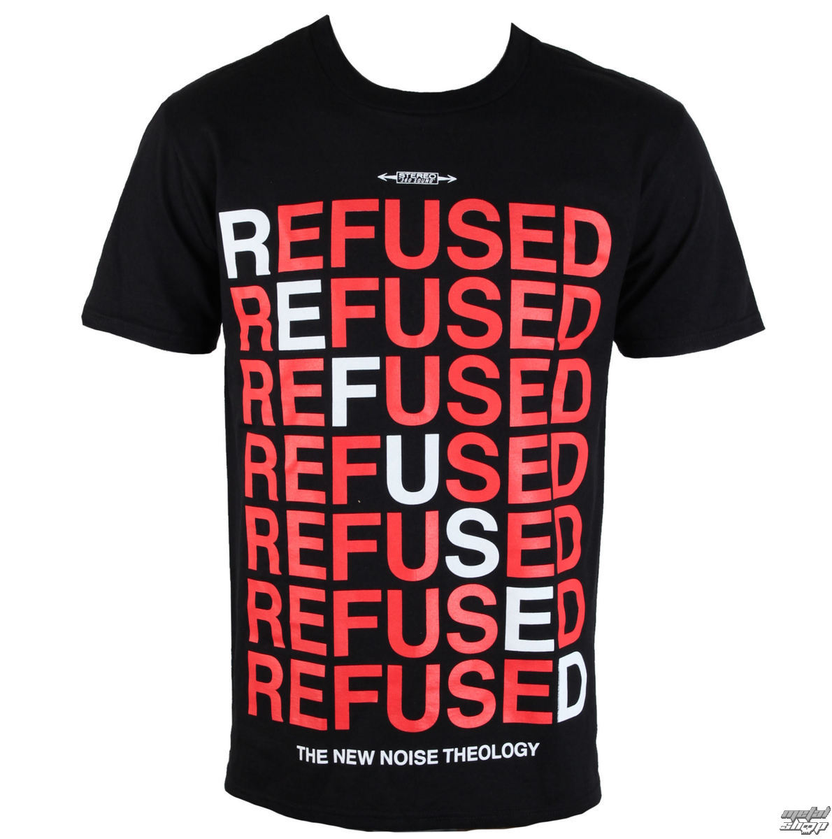 t-shirt metal men's Refused - New Noise Theology - PLASTIC HEAD