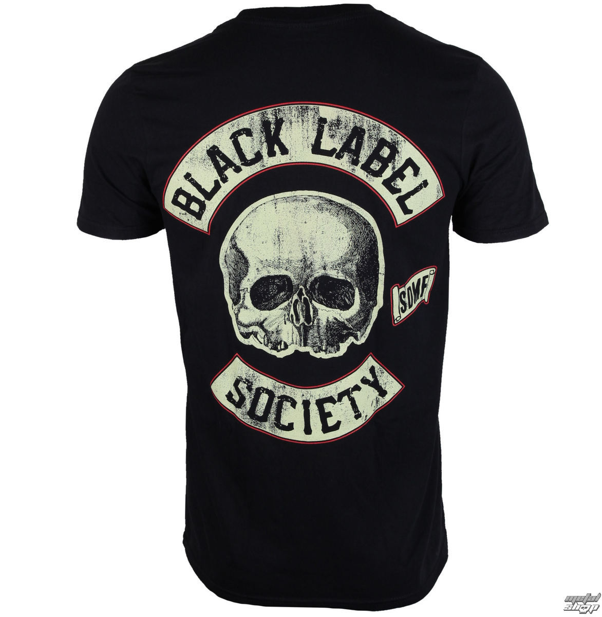 NEW MENS FRONT /& BACK PRINT T-SHIRT Black Label Society Hell Riding