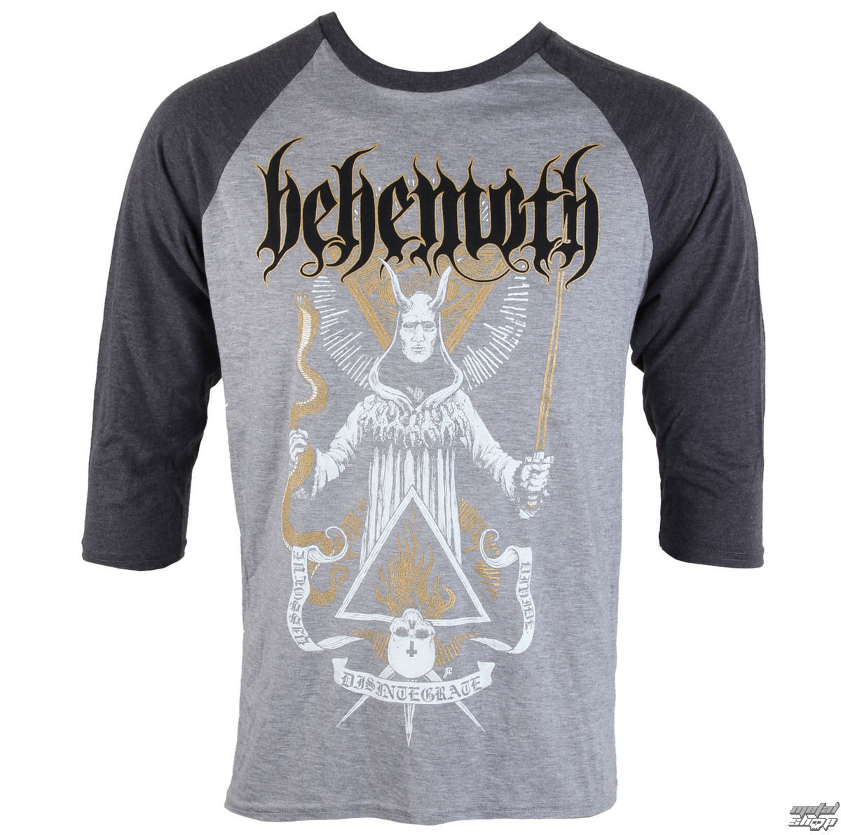 edc13db34 t-shirt men with long sleeve Behemoth - Disintegrate - PLASTIC HEAD ...