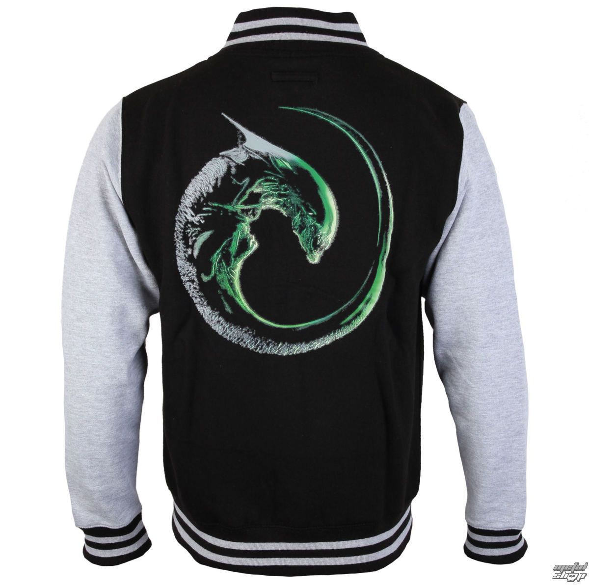 Greenday Mens Sweater Alien Black