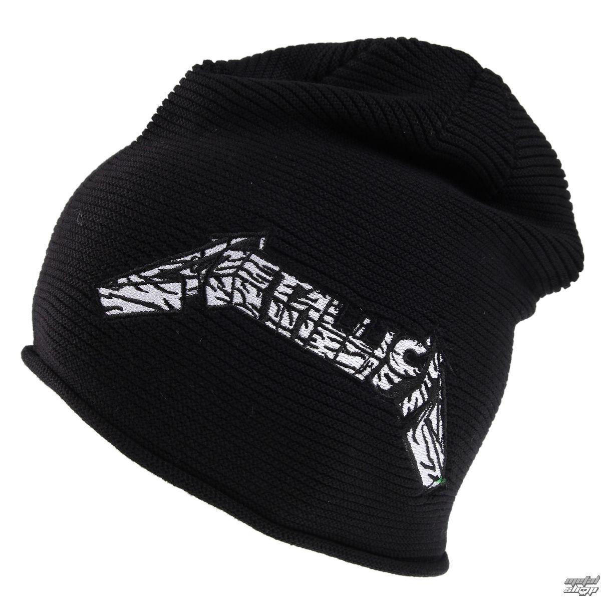 beanie Metallica - Master Logo - Black - ATMOSPHERE - PRO037 - metal ... 6fda26895839
