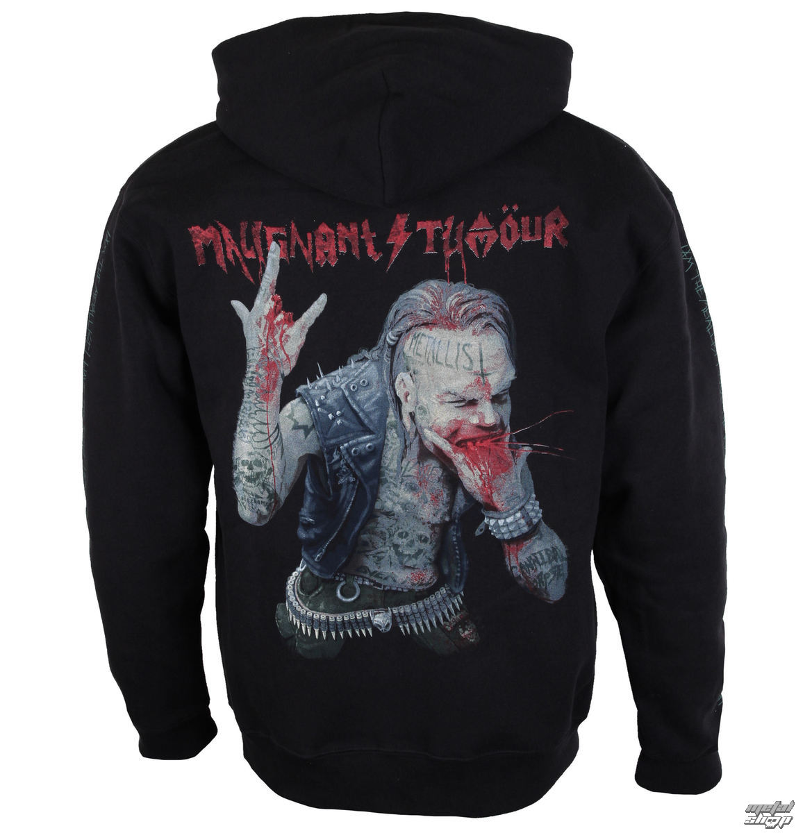 hoodie men's Malignant Tumour - THE METALLIST - NNM