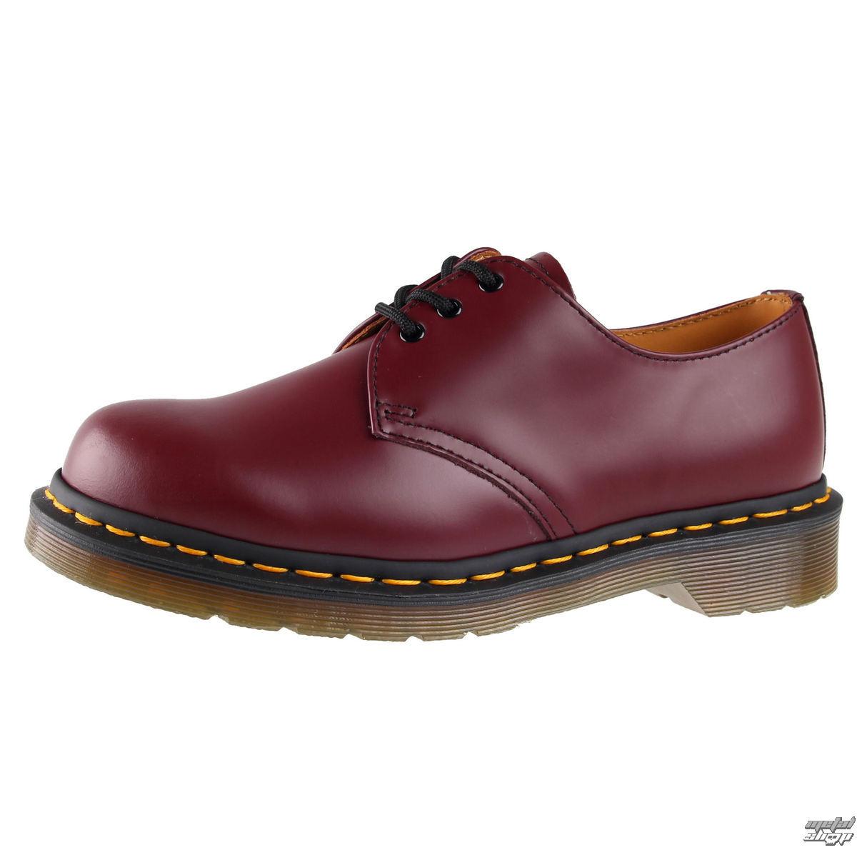 shoes Dr. Martens - 3-holes - DM 1461 59 - CHERRY RED SMOOTH - DM10085600 -  metal-shop.eu ced3e695f319