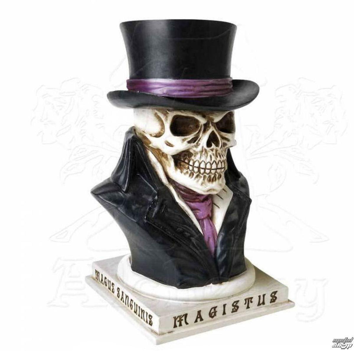 Decoration money box alchemy gothic count magistus for Alchemy skull decoration