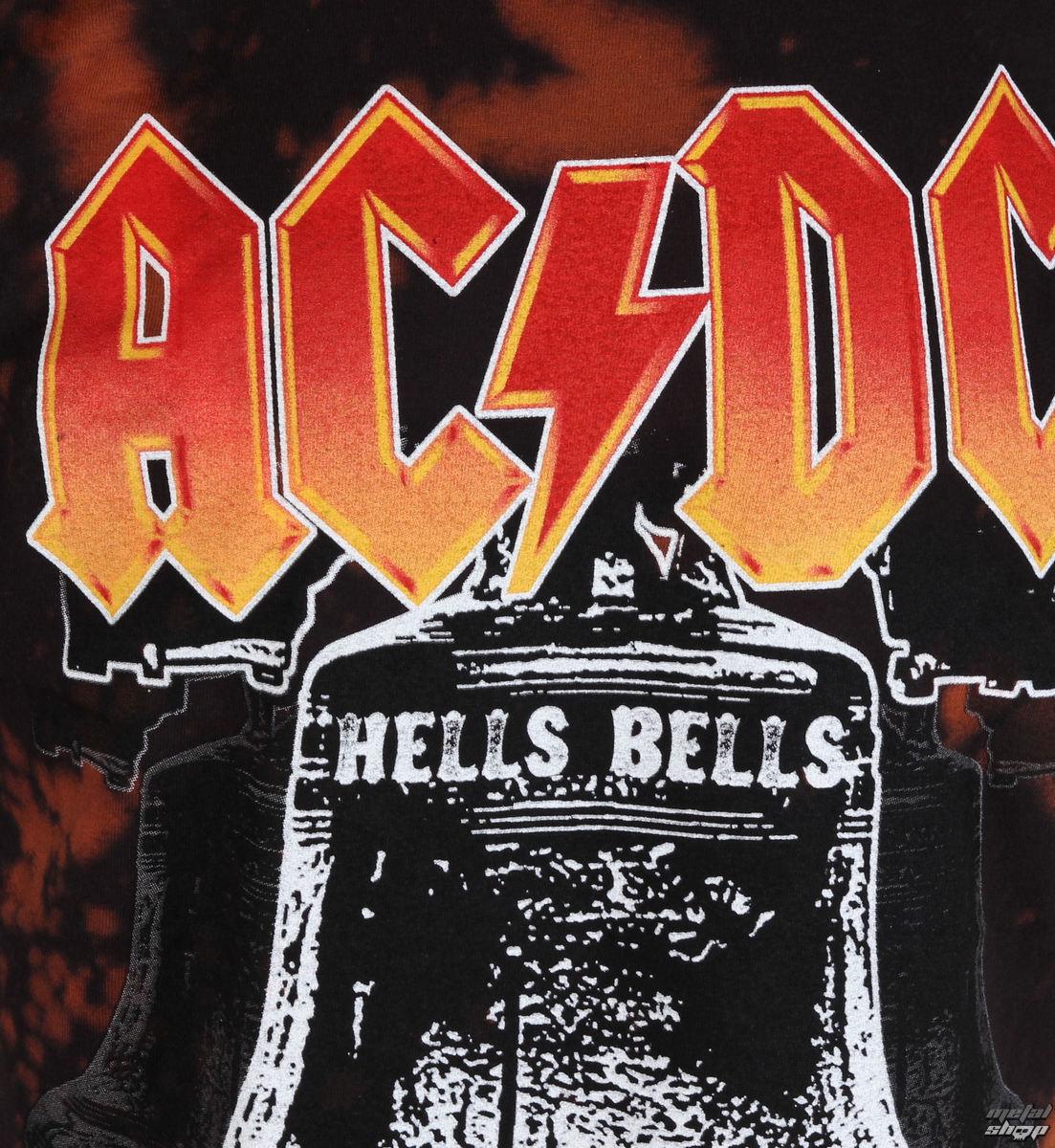 a846484126 tričko pánské AC DC - Hells Bells - BAILEY - R-062STB - metal-shop.eu