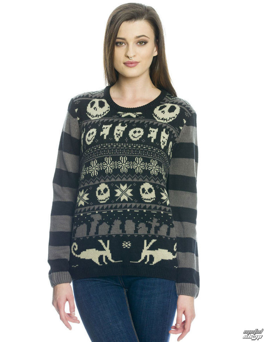 Sweater women\'s Nightmare Before Christmas - XMAS - NPO33831 - metal ...