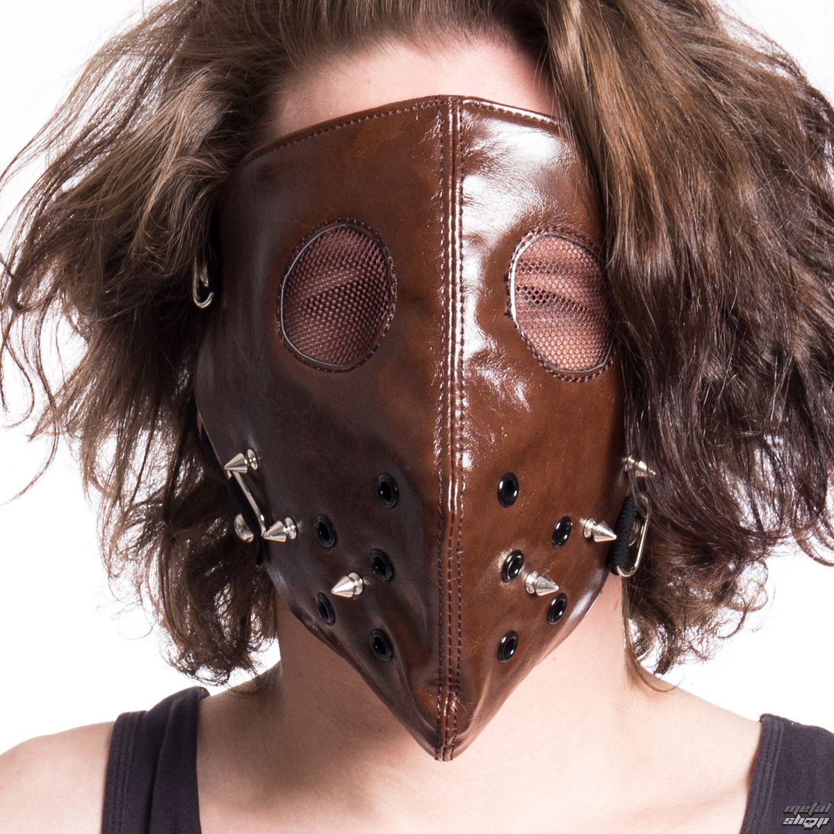 Mask POIZEN INDUSTRIES - HANNIBAL FACE - BROWN