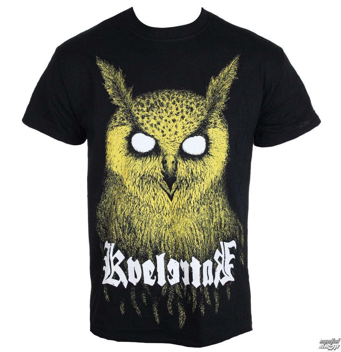 T-shirts Owl King T-shirt Kvelertak Herrenmode