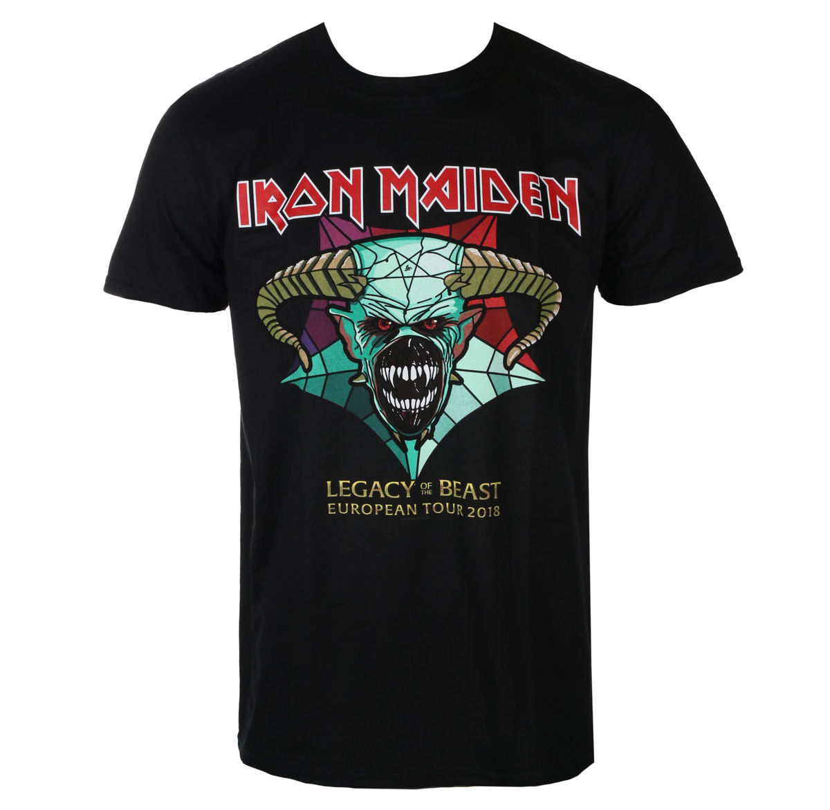 9dfb86e384fd t-shirt metal men's Iron Maiden - Legacy of the Beast European Tour 2018 -  ROCK OFF
