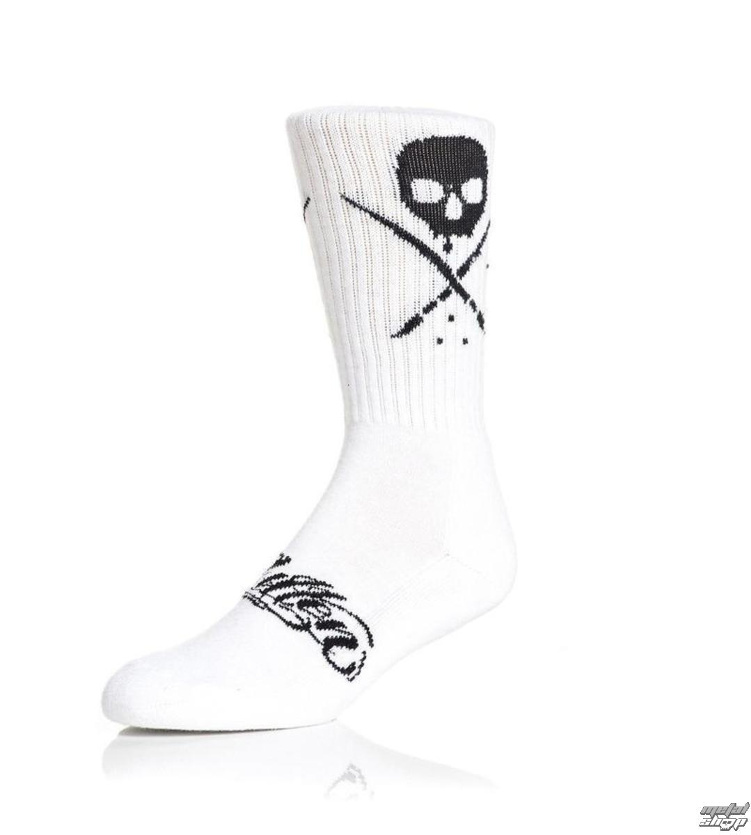 Sullen Men/'s Standard Issue Socks Black Red Active Clothing Apparel Footwear