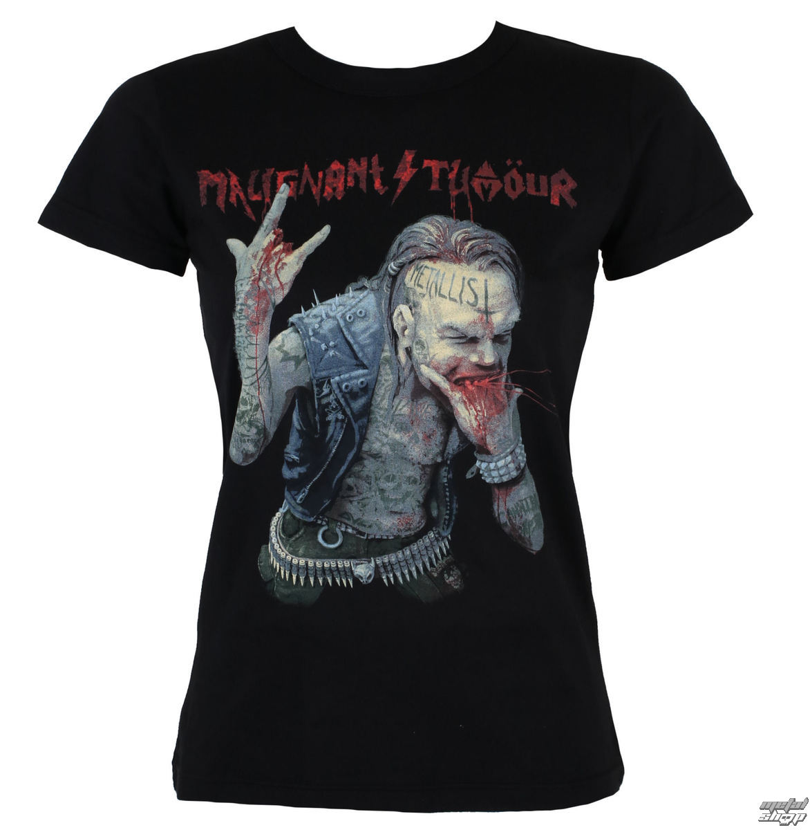 t-shirt metal women's Malignant Tumour - The Metallist - NNM