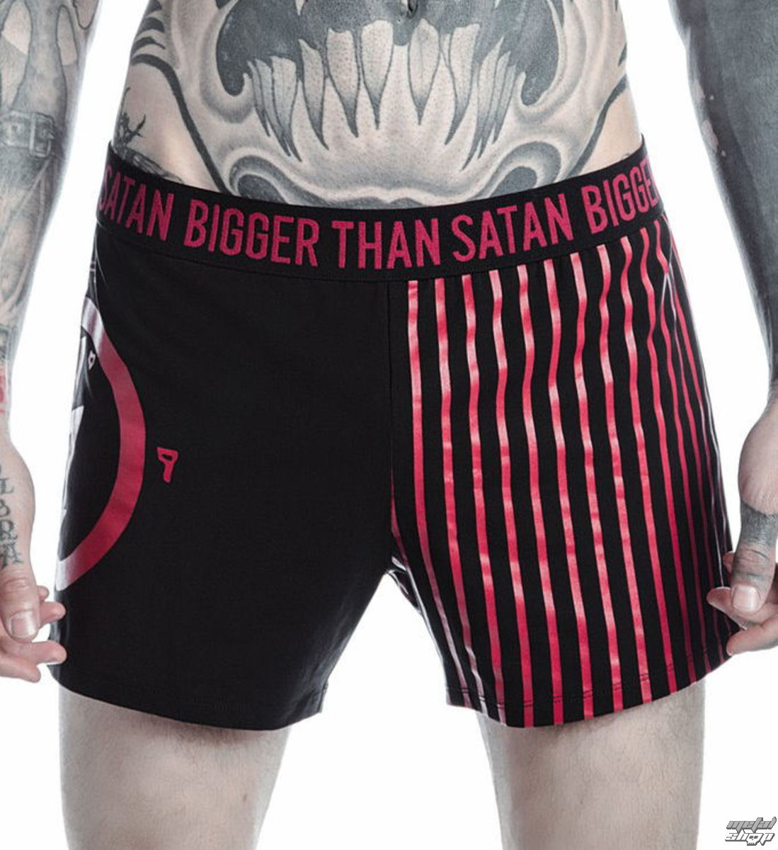 d9b000d1f89e Boxer Shorts Men's KILLSTAR - MARILYN MANSON - Bigger Than Satan - Black -  K-UND-M-2520 - metal-shop.eu