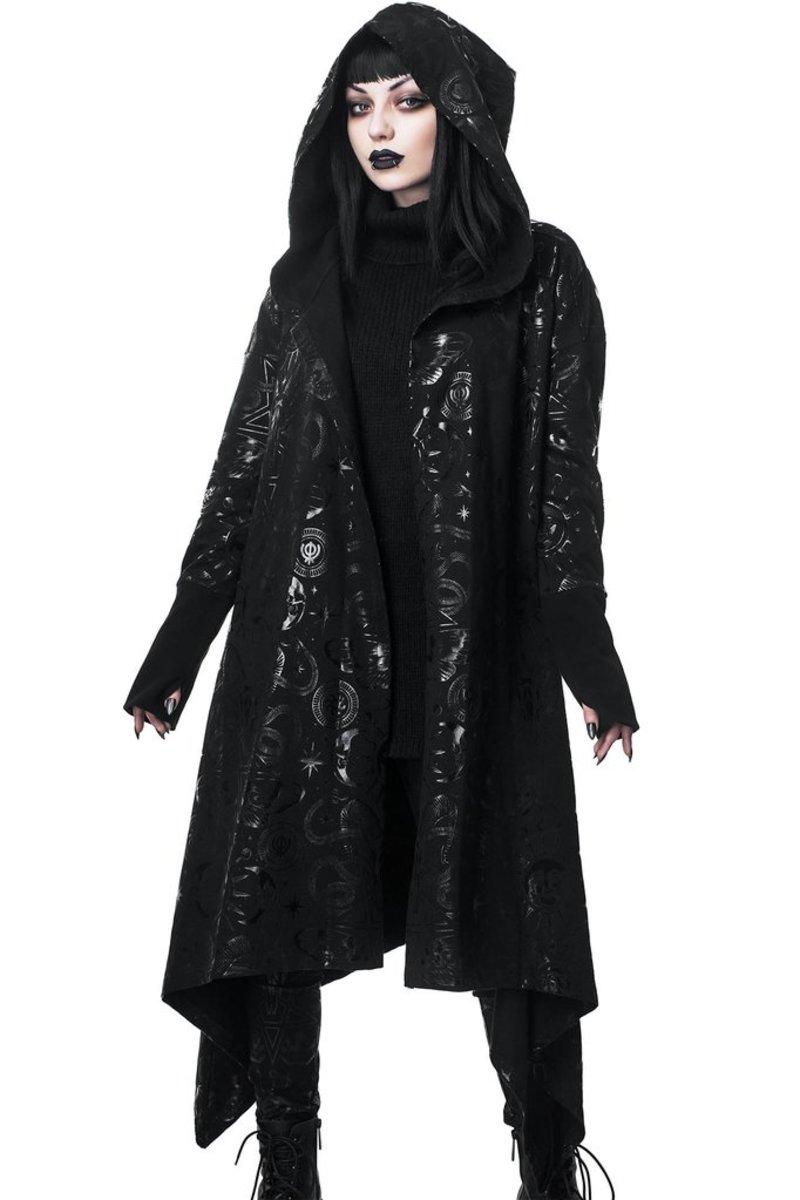 KILLSTAR Damen Kapuzenpullover KSRA XL Demon