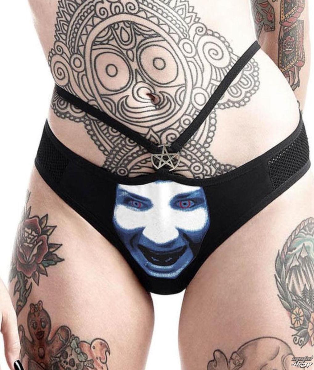 Panties Women's KILLSTAR - Marilyn Manson - God of Fuck - Black, KILLSTAR,  Marilyn