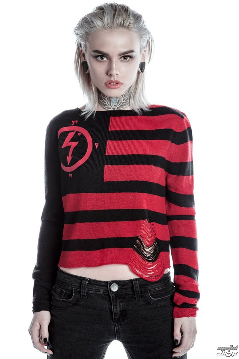 93a4b6ed04cd74 sweater women's KILLSTAR - MARILYN MANSON - Little Horn - Black -  K-KNT-F-2510 - metal-shop.eu