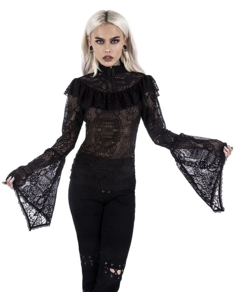 t-shirt women's - MORTE MISTRESS - KILLSTAR