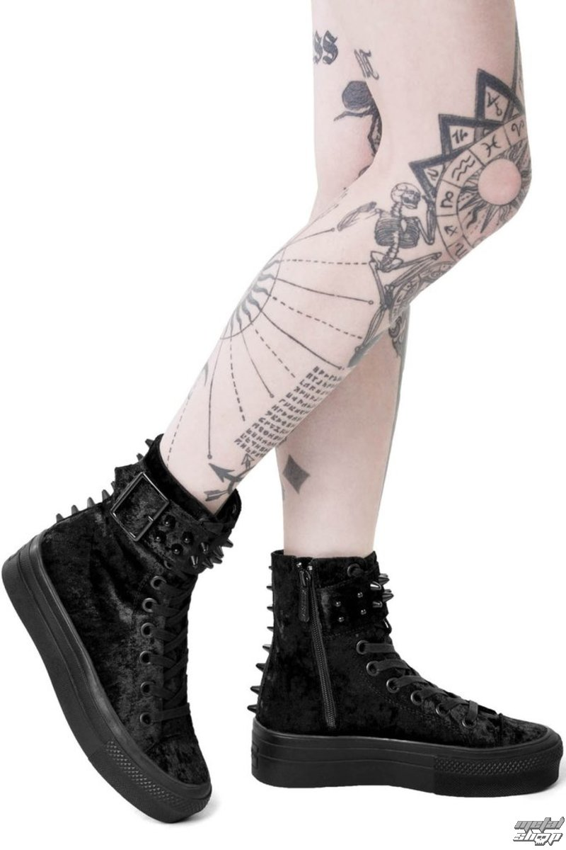 wedge boots women's - UNHOLY HIGH TOPS - KILLSTAR
