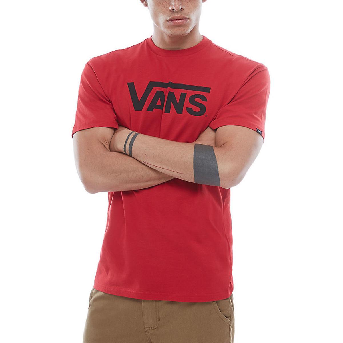 tričko pánské VANS - MN CLASSIC - chili pepper - V00GGG2KA - metal ... a108c8d4312