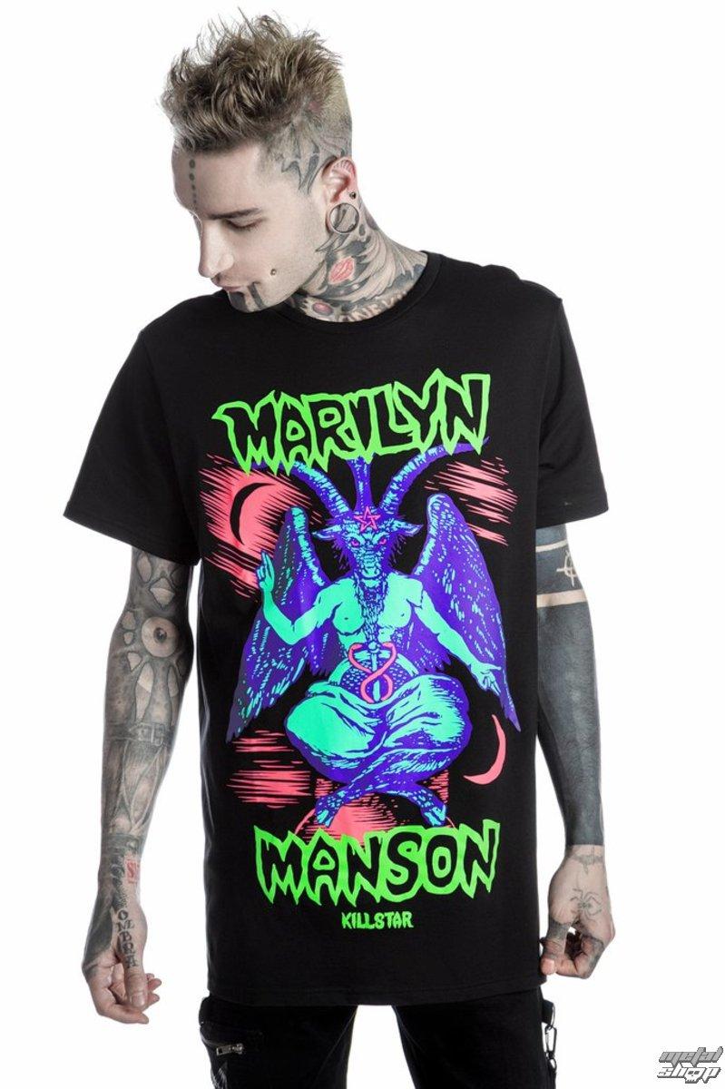 042d68923bea2d tričko unisex KILLSTAR - MARILYN MANSON - When I'm God - Black -  K-TSH-U-2500 - metal-shop.eu