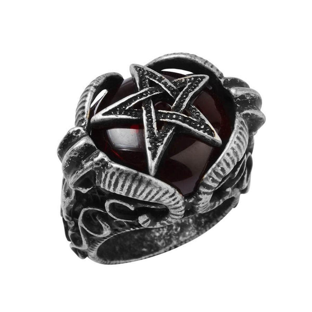 Ring KILLSTAR - Zeke Pentagram