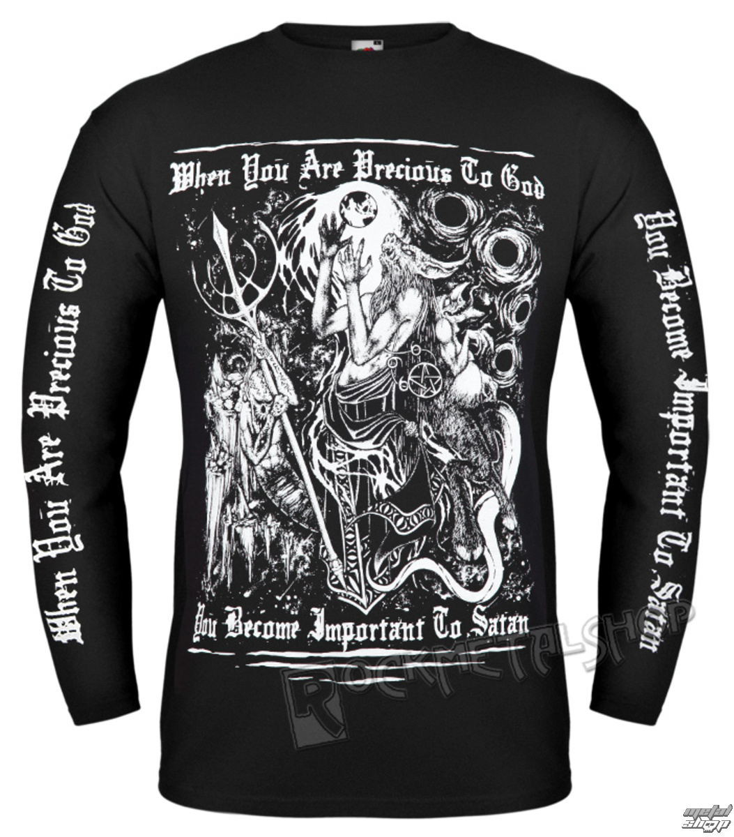 t-shirt hardcore men's - SATAN - AMENOMEN