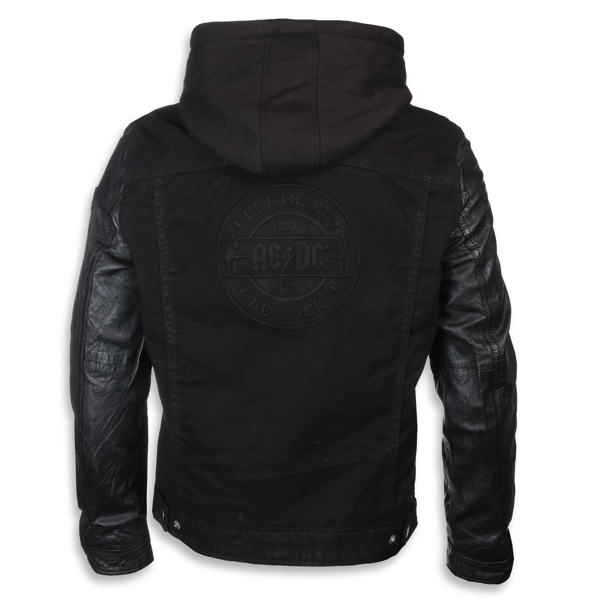 leather jacket AC-DC - Black - NNM