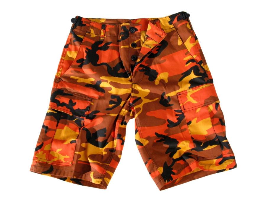 shorts men US-BDU Short Import - ORANGE - 200800 - metal-shop.eu bd31467a992